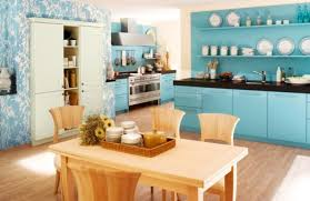 blue kitchen ideas 20 refreshing blue kitchen design ideas rilane