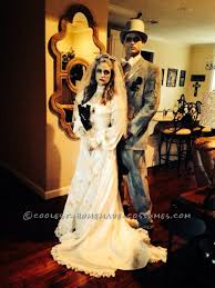halloween ghost bride costume coolest homemade dead groom and bride costumes