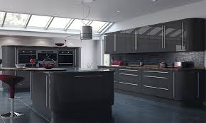 gray gloss kitchen cabinets why you can t take the shine off high gloss kitchen doors topdoors