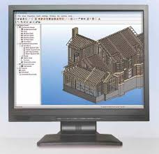 computer aided engineering software for wooden structures 2d
