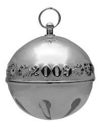 wallace sleigh bell sterling ornament at replacements ltd
