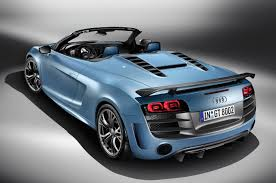 audi supercar convertible 2012 audi r8 gt spyder is officially launched