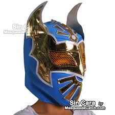 Wwe Sin Halloween Costume Kids Sin Blue Original Mask Lucha Libre Wrestling Masks