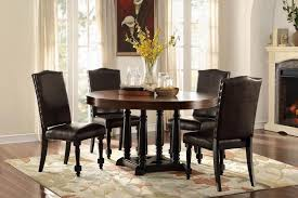round table grand ave barron 39 s furniture and appliance regular height dining and servers