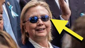 Hillary Clinton Sunglasses Meme - hillary clinton in seizure glasses blank template imgflip