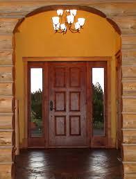 modern solid wood exterior front doors