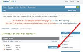 joomla blank template the t3 template framework for joomla