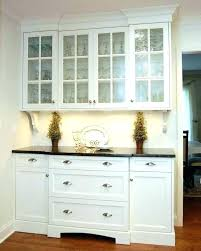 buffet cabinet with glass doors white buffet cabinet small medium size of for kitchens with within
