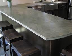 comptoir ciment cuisine poser un comptoir de cuisine écologique sain durable et local
