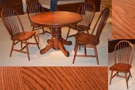 attractive amish kitchen table and large made dining tables