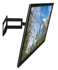 full motion corner tv wall mount amazon com mount it swivel tv wall mount full motion for flat