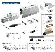 titan model 60 hydraulic trailer disc brake surge coupler actuator