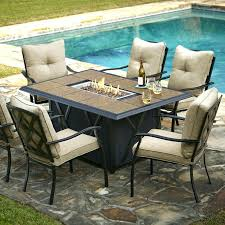 Granite Patio Tables Dining Table Outdoor Dining Furniture Fire Pit Patio Set Table
