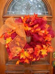 curly fall deco mesh wreath by creativetwists1 on etsy 55 00