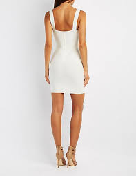 bandage bodycon dress charlotte russe