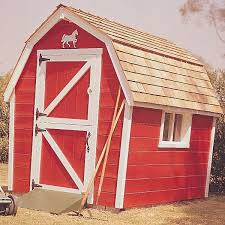 woodworking project paper plan to build little red barn plan no 461