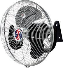 wall mounted rotating fan q standard 11436 14 oscillating wall mount fan northwoods warehouse