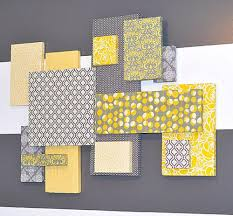 Yellow And Grey Room Brilliant Design Yellow And Grey Wall Decor Fancy Ideas Yellow And