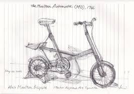 sketching alex moulton u0027s bicycle urban sketchers