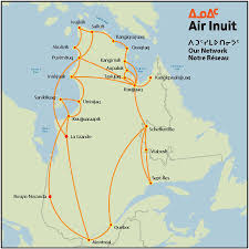Cape Air Route Map by Inuit Route Map