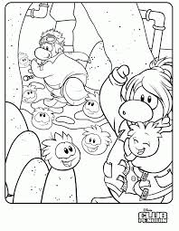 coloring pages of club penguin club penguin coloring pages print coloring home