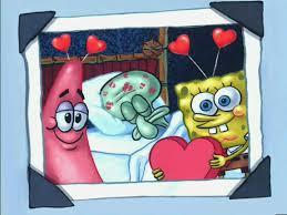 image picture of patrick squidward sleeping u0026 spongebob on