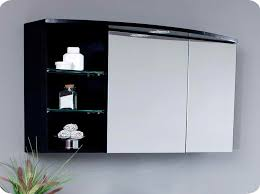 Black Bathroom Mirror Cabinet Bathroom Ideas Large Bathroom Mirror With Storage Above Single