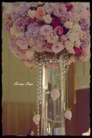 artificial table centerpieces the vip table centerpiece with hanging roses tall table