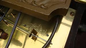 Mantle Clock Repair Vintage Old Antique Junghans German Mantle Clock For Spare