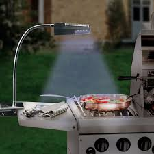 Outdoor Grill Light Solar Powered Stainless Steel Grill Light