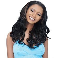 partial sew in hairstyles for synthetic hair synthetic hair half wig outre quick weave zahra most desired