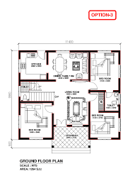3bhk House Plans House Plans Kerala 3 Bedrooms Nice Home Zone
