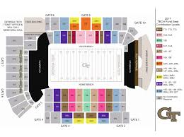 United Center Seating Map Ramblinwreck Com The Georgia Tech Yellow Jackets Official