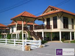 2 storey modern thai style home in west hua hin