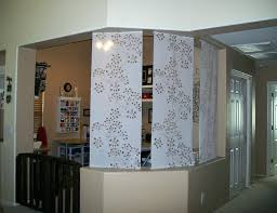 curtain room dividers office home design ideas office partition