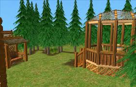 mod the sims little house in the big woods