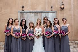 bridesmaid dress colors mismatched bridesmaid dresses different dresses same color