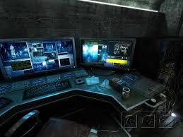 gaming workstation desk sanctuary computer workstation ui desk cyber tech mage game