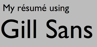 Which Is The Best Font For Resume by Résumé Fonts That Make The Best Impression According To Designers