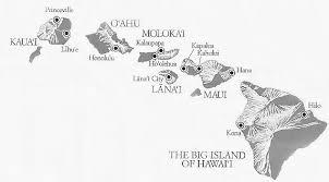 map of hawaii island map hawaiian islands mapa hawaii