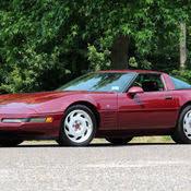 1993 corvette 40th anniversary 1993 40th anniversary ruby corvette convertible