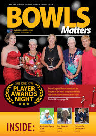 Comfort Eye Care Cabramatta Bowls Matters 2016 Jan Mar By Women U0027s Bowls Nsw Issuu