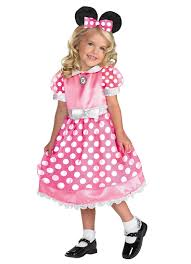 halloween custumes for girls pink minnie mouse toddler halloween costume walmart com