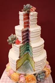 The Best Wedding Cakes Best 20 Rainbow Square Wedding Cakes Ideas On Pinterest U2014no Signup