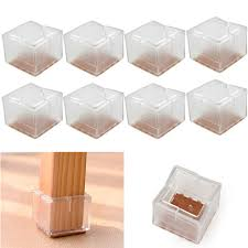 table leg floor protectors high quality 8pcs lot silicone square chair legs caps table legs