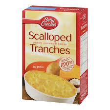 thanksgiving scalloped potatoes betty crocker au gratin scalloped potatoes walmart canada