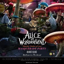 masquerade halloween party atlanta boutique cavalli presents alice in wonderland masquerade party