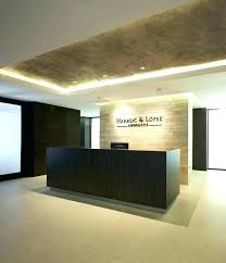 Designer Reception Desk Reception Desk Design Modern Counter Ideas Interque Co