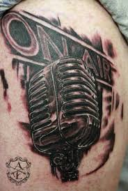 radio on air mic on shoulder by ambrose
