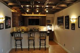 Basement Remodel Costs by Rustic Finished Basement Ideas Home Design Ideas